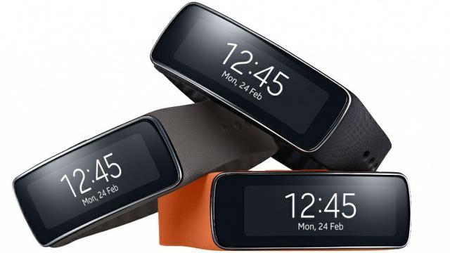 Samsung Gear Fit... nagrodzony