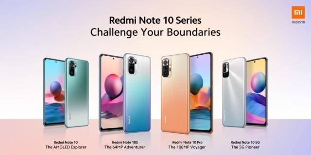 Wygląd serii Redmi Note 10 Pro nawiązuje do poprzedników