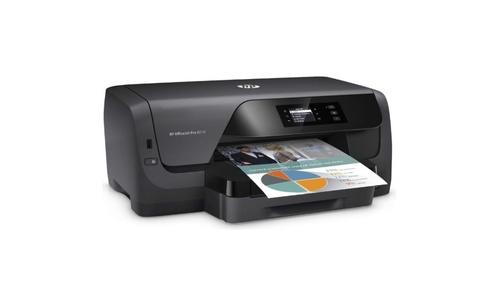 HP Officejet Pro 8210 na białym tle