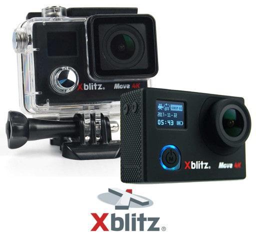 kamera ze stabllizacją obrazu Xblitz Move 4K