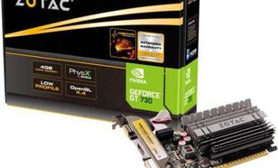 Zotac GeForce GT 730 Zone Edition 4GB DDR3 (64 bit) HDMI, DVI, VGA, BOX (ZT-71115-20L)