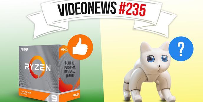 Wielka awaria kas fiskalnych, AMD idzie po swoje, kot z Kickstartera - VideoNews #235
