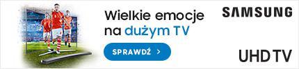 Promocja na TV Samsunga SUHD