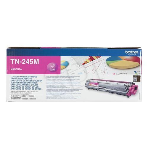 BROTHER Toner Czerwony TN245M=TN-245M, 2200 str.
