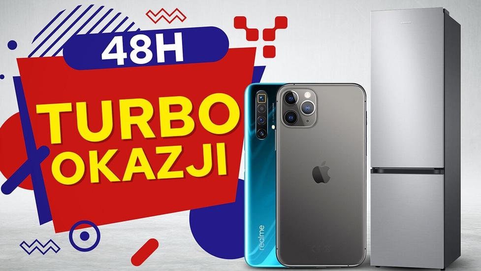 Smartfony 1000 zł taniej - 48 Godzin Turbo Okazji!