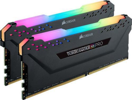 Corsair Vengeance RGB PRO DDR4, 2x8GB, 3600MHz, CL18