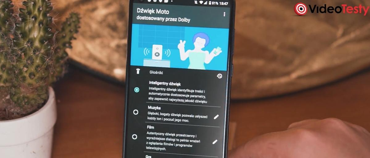 Dźwięk Moto w Motoroli Moto G8 Power pomaga, ale niewiele