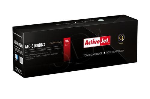 ActiveJet ATO-3100BNX czarny toner do drukarki laserowej OKI (zamiennik 42127408) Supreme
