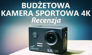 """,,4K"""" i 2K za 500zł? Recenzja Kamery Sportowej SJCAM 5000X Elite"""