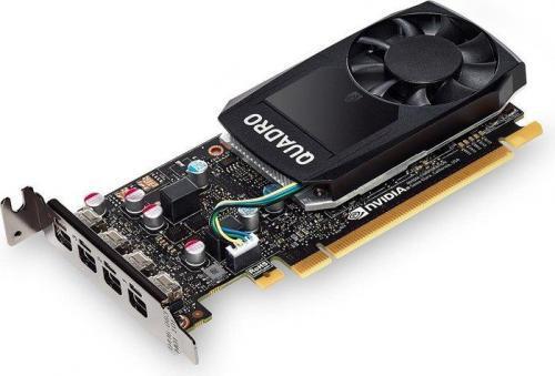 PNY Technologies NVIDIA Quadro P620, 2GB GDDR5 (128 Bit), 4x miniDP