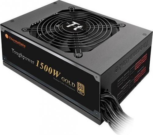 Thermaltake 1500W Modular (80+ Gold, 10xPEG, 135mm) PS-TPD