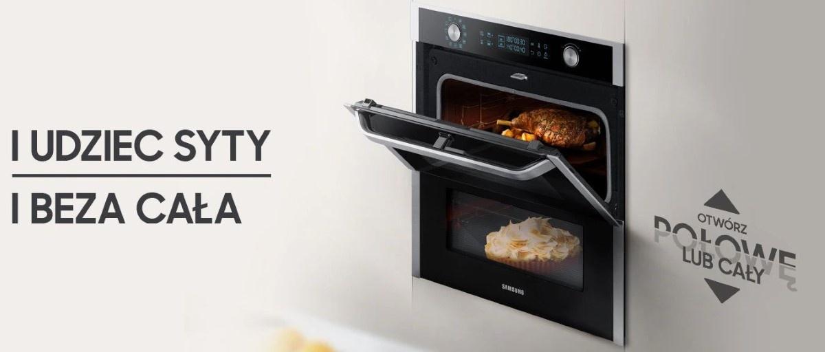 Samsung Dual Cook Flex połowa drzwi