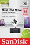 SanDisk Ultra Dual USB Drive 32 GB