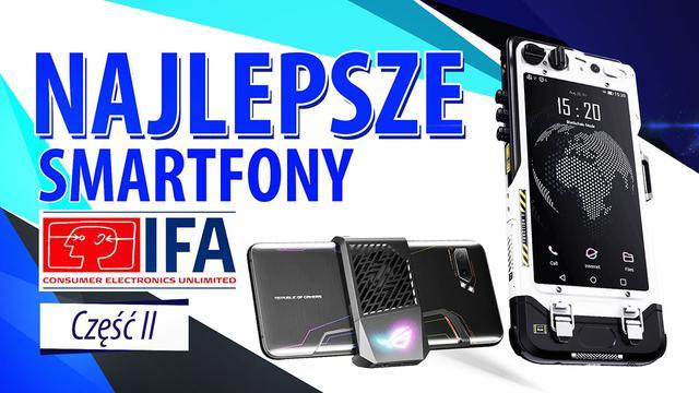 Unikalne telefony z IFA 2019! Asus dla graczy, telefon kryptowalutowy, debiut TCL