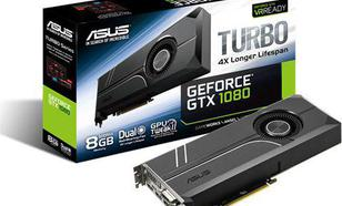 Asus GeForce Turbo GeForce GTX 1080 8GB GDDR5X (256 bit) DVI-D, 2x HDMI, 2x DP, BOX (TURBO-GTX1080-8G)