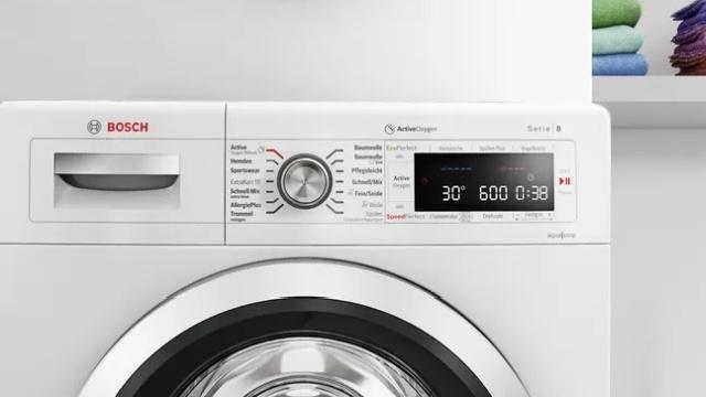 Bosch WAN2826EPL Serie 4 VarioPerfect oferuje wiele programów prania