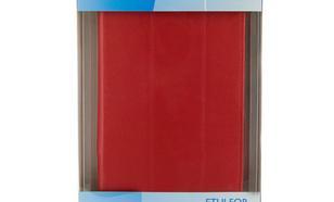 4World Etui ochronne/Podstawka do Galaxy Tab 2, Folded Case, 7'', czerwone