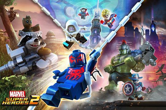 prezent na święta do 300 zł - gra na PS4 Lego Marvel Super Heroes 2
