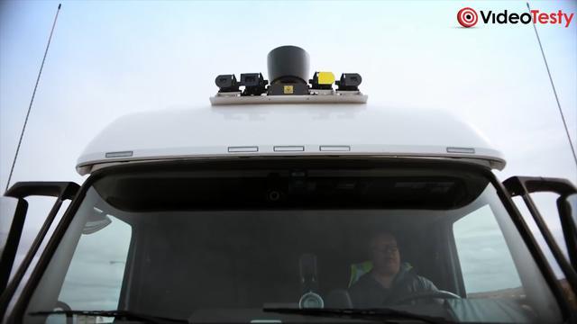 Autonomiczna Ciężarówka Uber