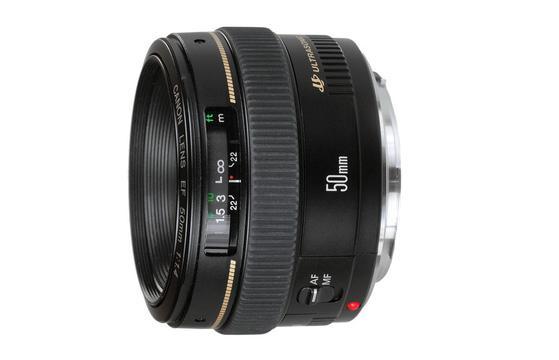Obiektyw Canon 50mm