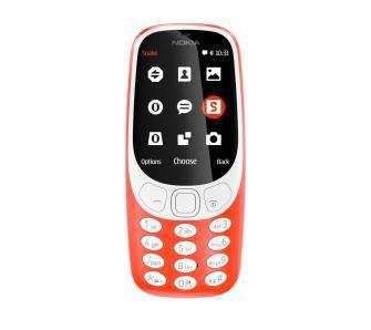 Nokia 3310 Dual Sim (błyszczący czerwony)