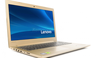 Lenovo Ideapad 520-15IKB (81BF008XPB) Złoty - Windows 10 Pro - Raty