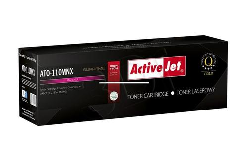 ActiveJet ATO-110MNX magenta toner do drukarki laserowej OKI (zamiennik 44250722) Supreme