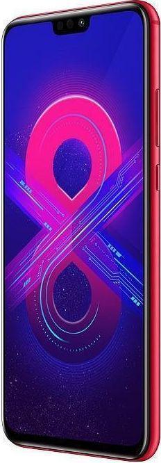 HONOR 8X 64GB Czerwony (51092XYJ)