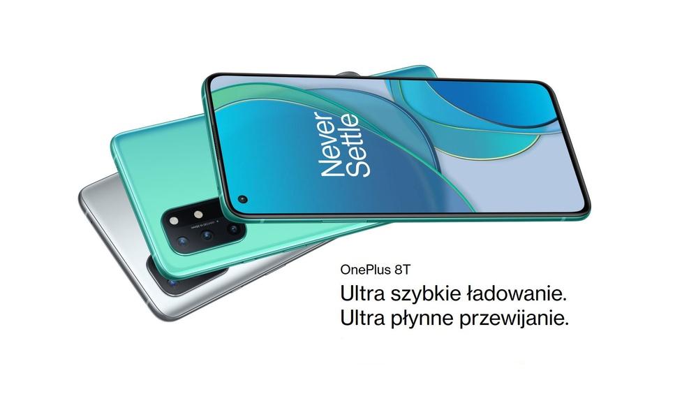 OnePlus 8T – Odświeżona wersja popularnego flagowca