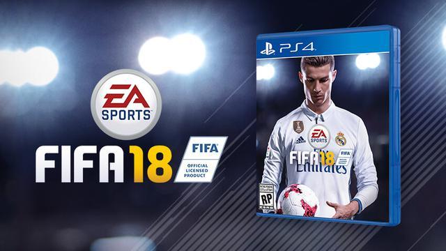 prezent na święta dla chłopaka - FIFA 18 PS4