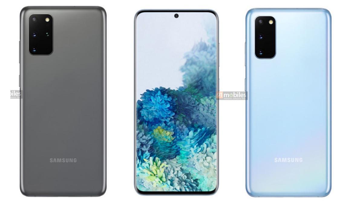 Samsung Galaxy S20 pojawi się w kilku kolorach (Źródło: 91 Mobiles)