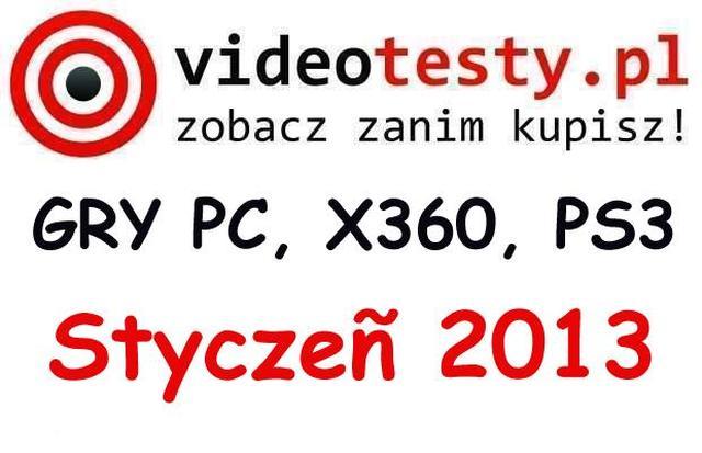 Premiery gier PC, Xbox360, PS3 - Styczeń 2013