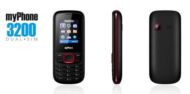 Mega okazja na tani telefon! myPhone 3200 za jedyne 59 zł!
