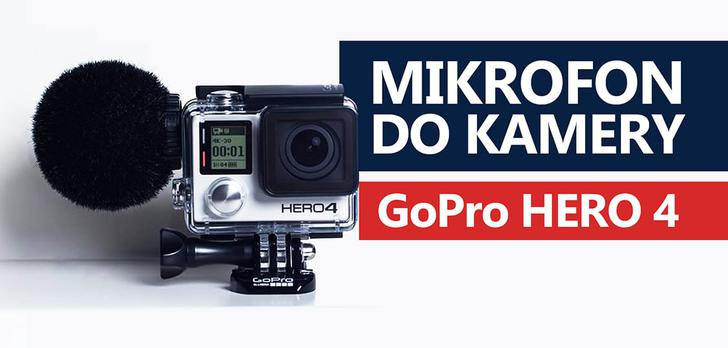 Recenzja Mikrofonu do GoPro Hero 4 - Sennheiser MKE-2 Elements