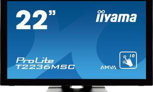21.5'' T2236MSC-B2 10P DOTYKOWY HDMI/DVI/GŁOŚNIKI PCAP
