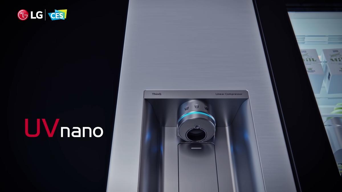 UV Nano w lodówce LG