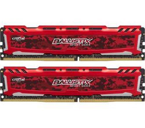 Crucial Ballistix Sport LT Red DDR4 (2 x 4GB) 8GB 2666 CL16
