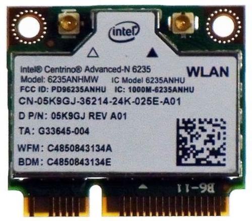 Intel Centrino Advanced -N 6235 DB,2x2, 920119, Bluetooth