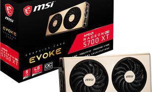 MSI Radeon RX 5700 XT EVOKE OC 8GB GDDR6 (RX 5700 XT EVOKE OC)