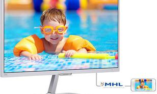 23.6'' 246E7QDSW LED PLS DVI HDMI MHL Biały