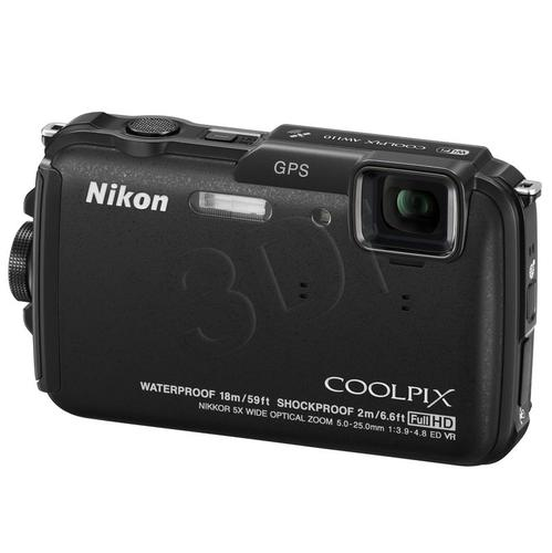 NIKON COOLPIX AW110 ADVENTURE KIT CZARNY