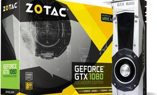 Zotac GeForce GTX1080 8GB GDDR5X (256 bit) DVI, HDMI, 3x DP, Box (ZT-P10800A-10P)