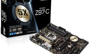 Asus Z97-C, Z97, DualDDR3-1600, SATA3, RAID, HDMI, DVI, D-Sub, ATX (Z97-C)
