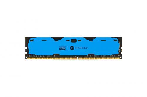 GOODRAM IRDM 4GB niebieski [1x4GB 2400MHz DDR4 CL 15-15-15 512x8 DIMM] ..