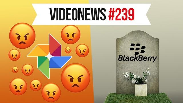 Koniec Blackberry, wyciek Google Photos, magiczny parasol - VideoNews #239