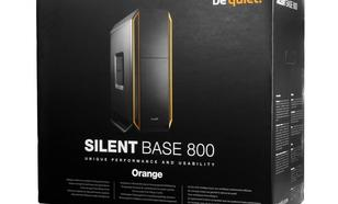 be quiet! SILENT BASE 800 Orange BG001