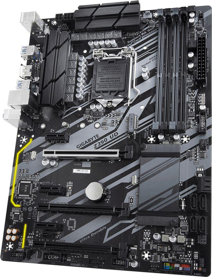 Gigabyte Z390 UD s1151 4DDR4 HDMI/M.2 ATX