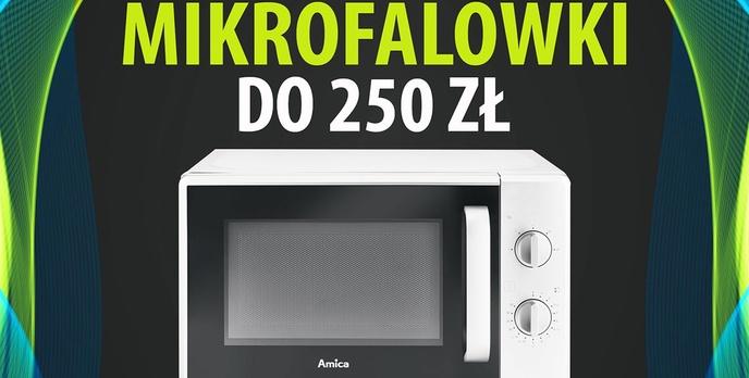 Jaka mikrofalówka do 250 zł? | TOP 4 |