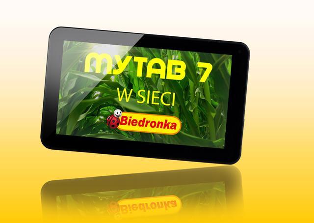 myTAB 7 z najnowszym systemem Android 4.2, w wakacyjnej cenie - w Biedronkach!