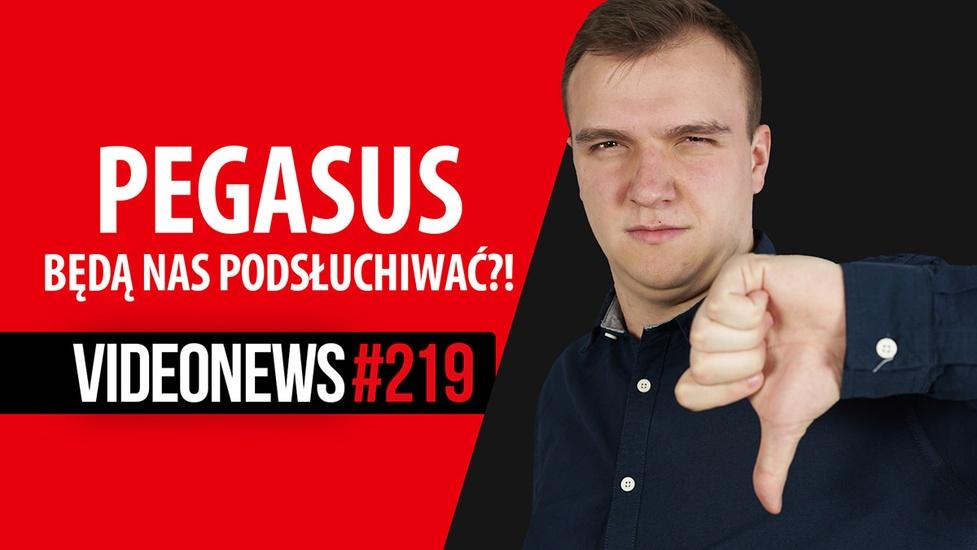 System Pegasus w Polsce, tusz zmieniający kolor, kradzież dzięki AI - VideoNews #219